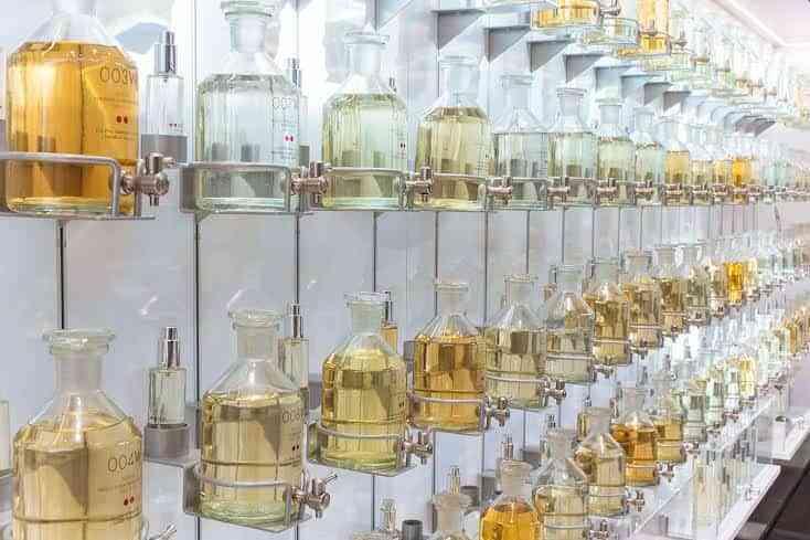 Imagen de las perfumerías