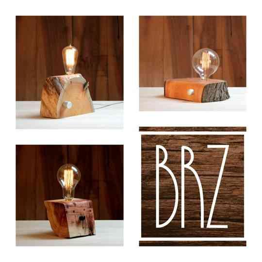 Conoce las BRZ Wood Design, unas lámparas súper originales