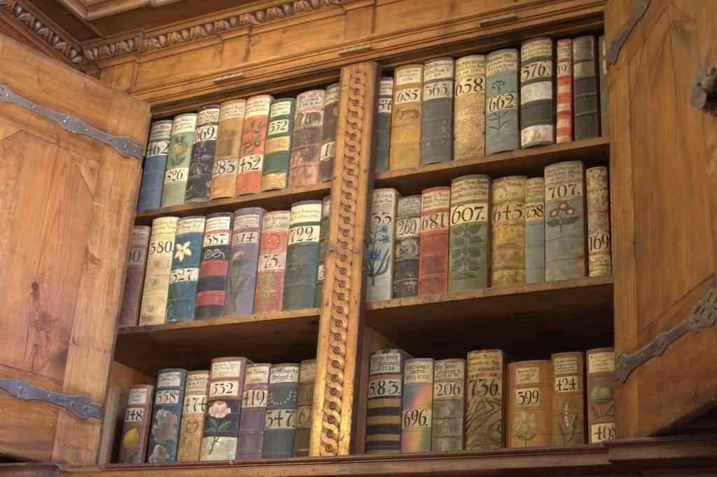 Reparar los libros antiguos
