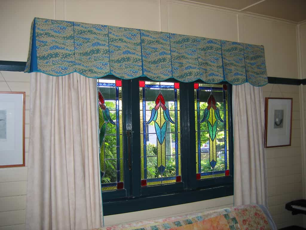 cortinas de las habitaciones