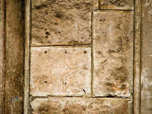 irregularidades de las paredes