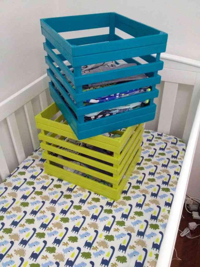 cajas de almacenaje  pasos finales