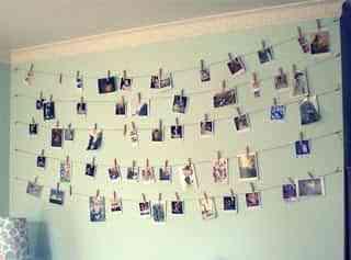 usar fotos para decorar tu dormitorio