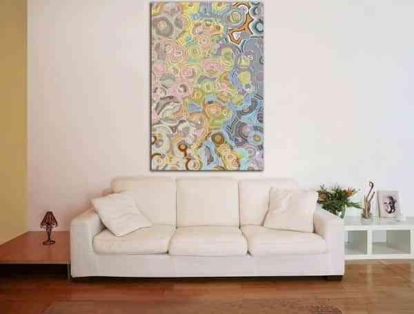 decorar tu habitación con arte moderno