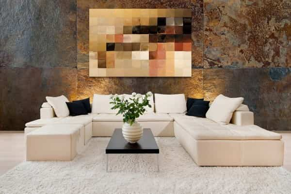 decorar tu habitación con obras modernas