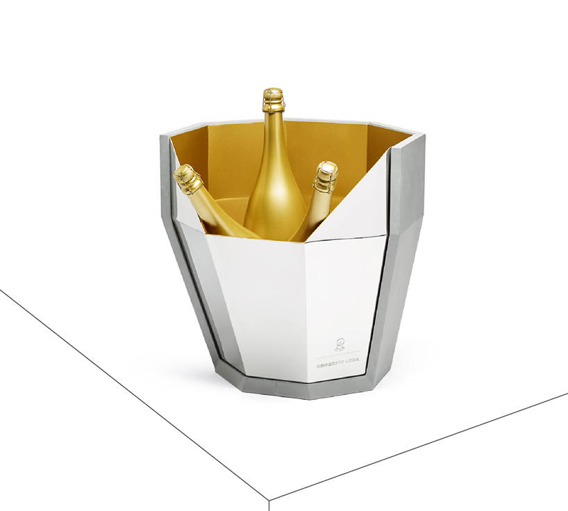 contenedor de champan