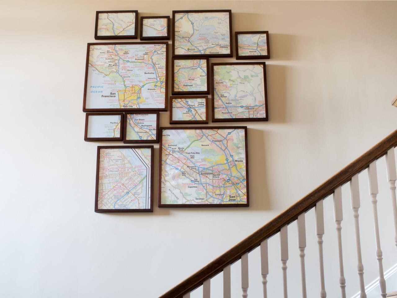 Diferentes ideas DIY para tus paredes