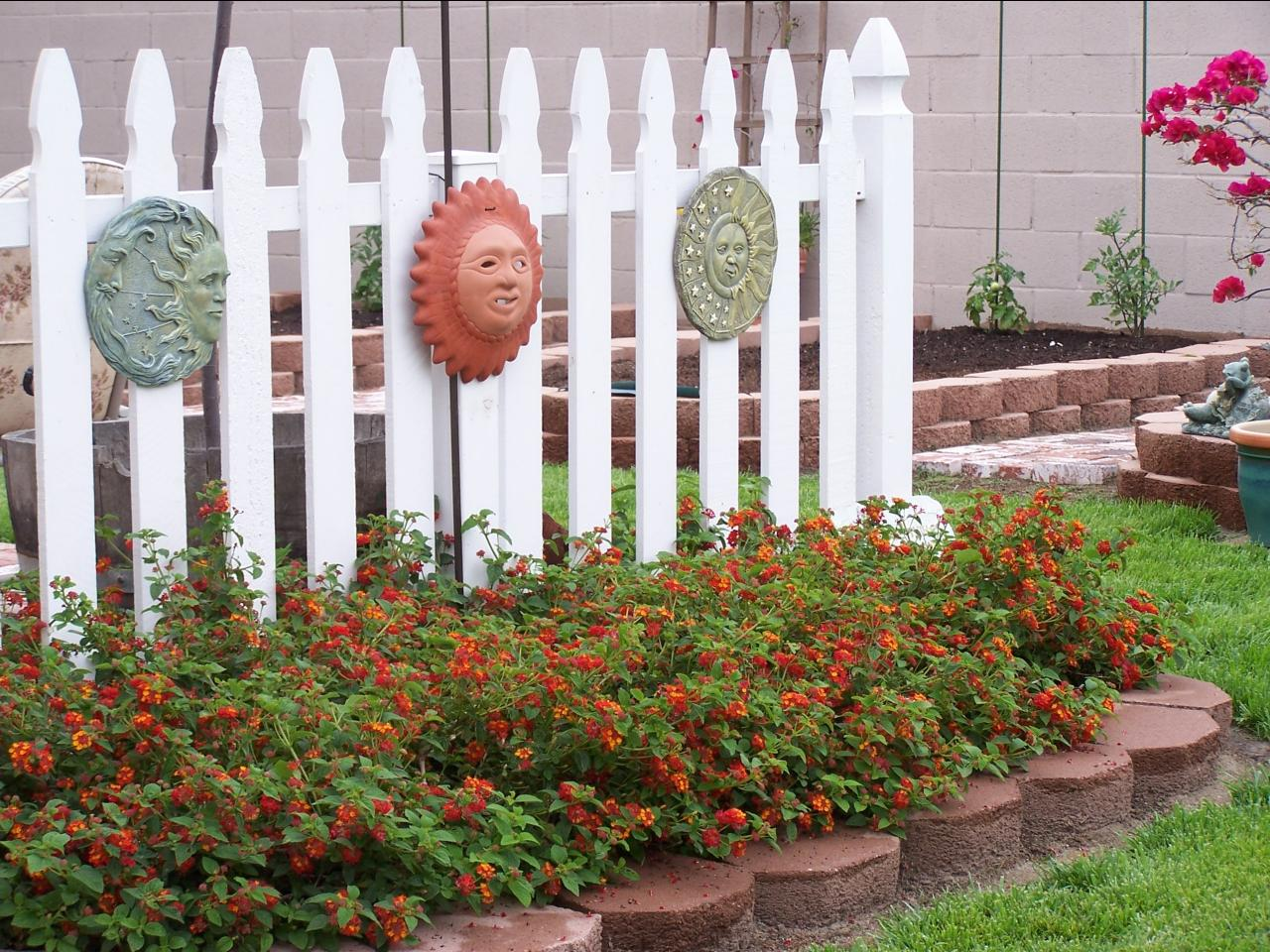 decoración exterior diferente para tu jardin
