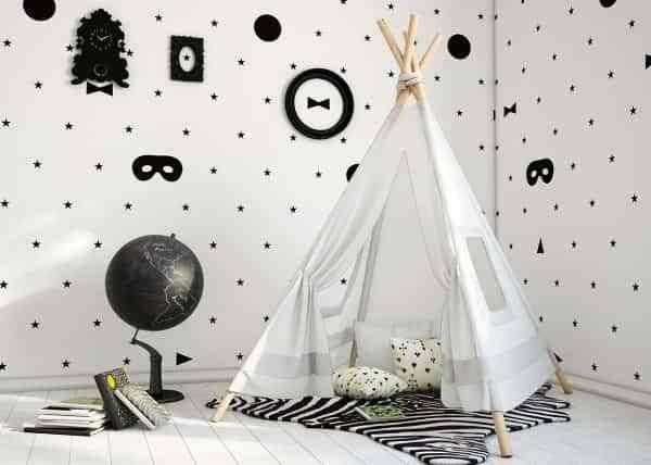 Ideas para alegres habitacines infantiles