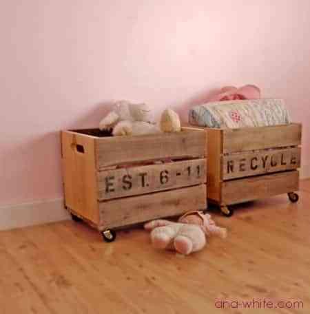 Organizadores para habitaciones  de niños
