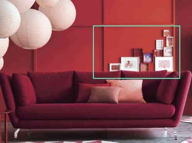 Adornar las paredes minimalistas