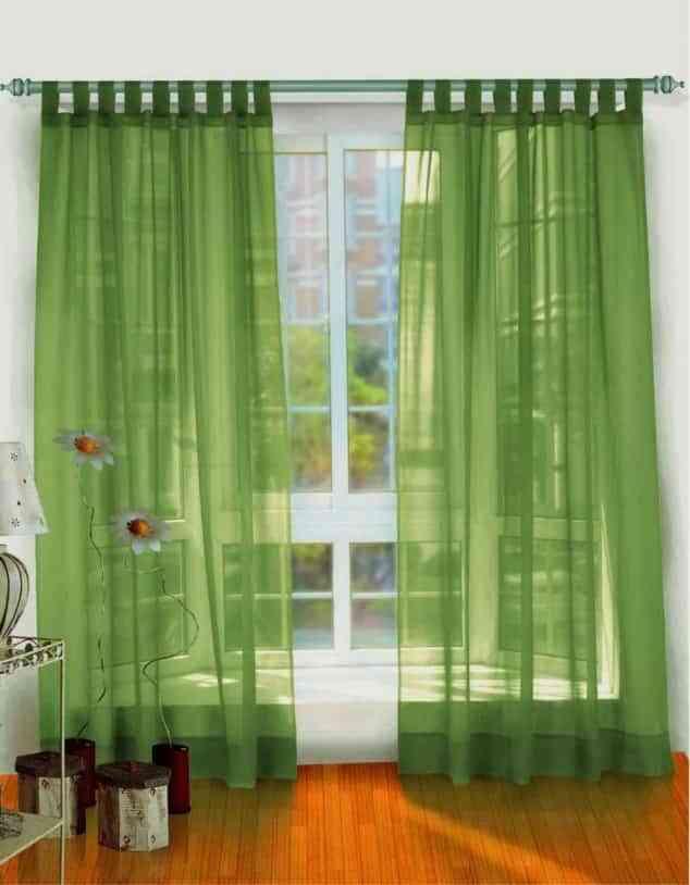 Uso de las cortinas de diseño