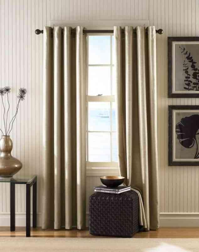 Diferentes cortinas de diseño
