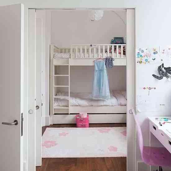 Diferentes habitaciones modernas para niños