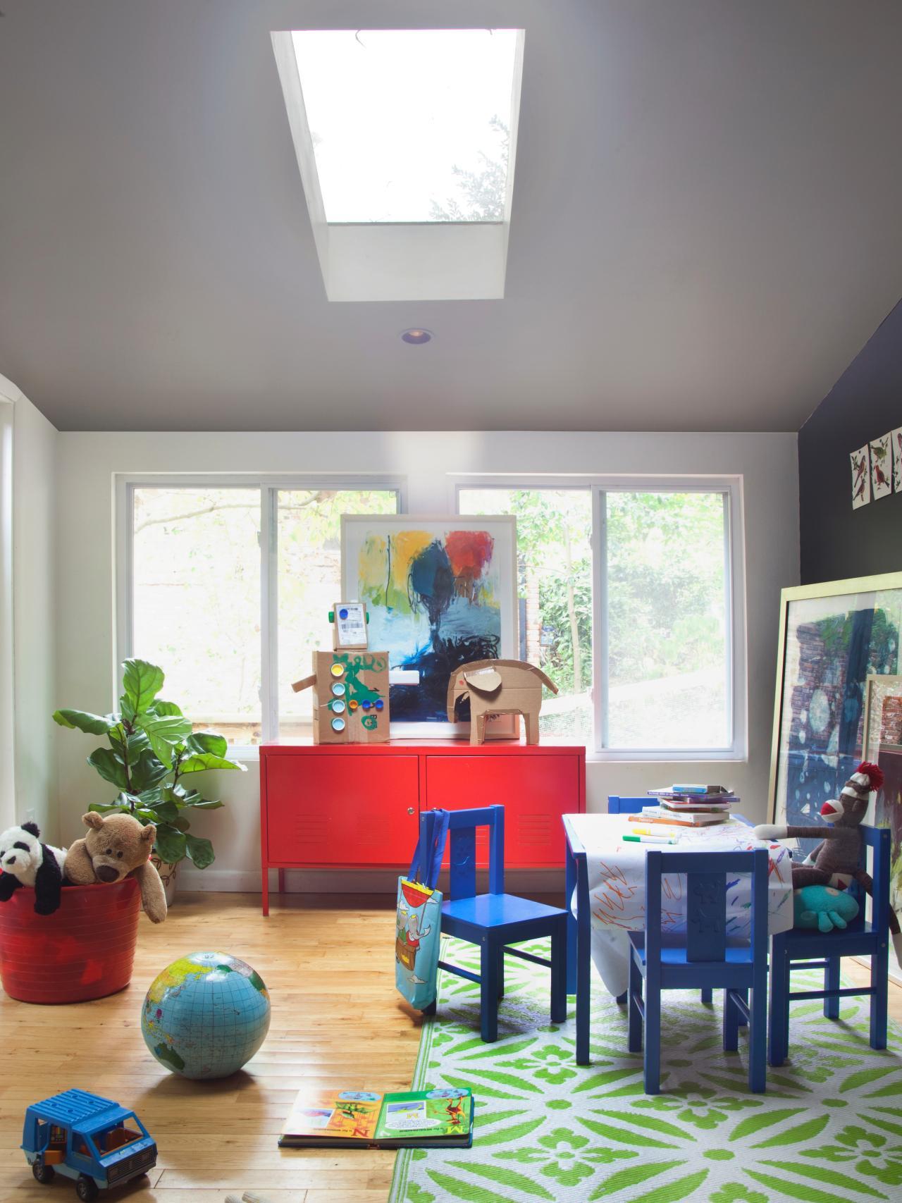 Ideas inspiradoras para las paredes de habitaciones infantiles