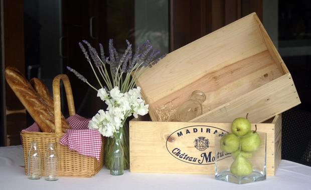 cajas de comida para picnic