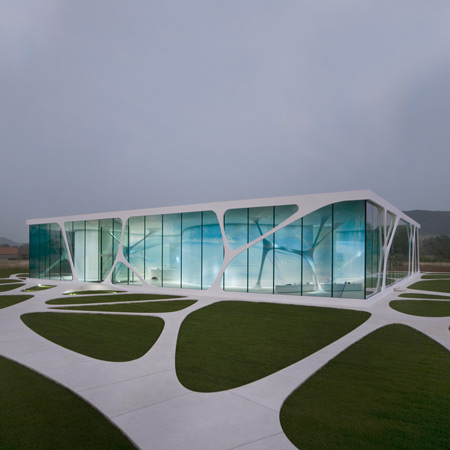casas hechas en cristal