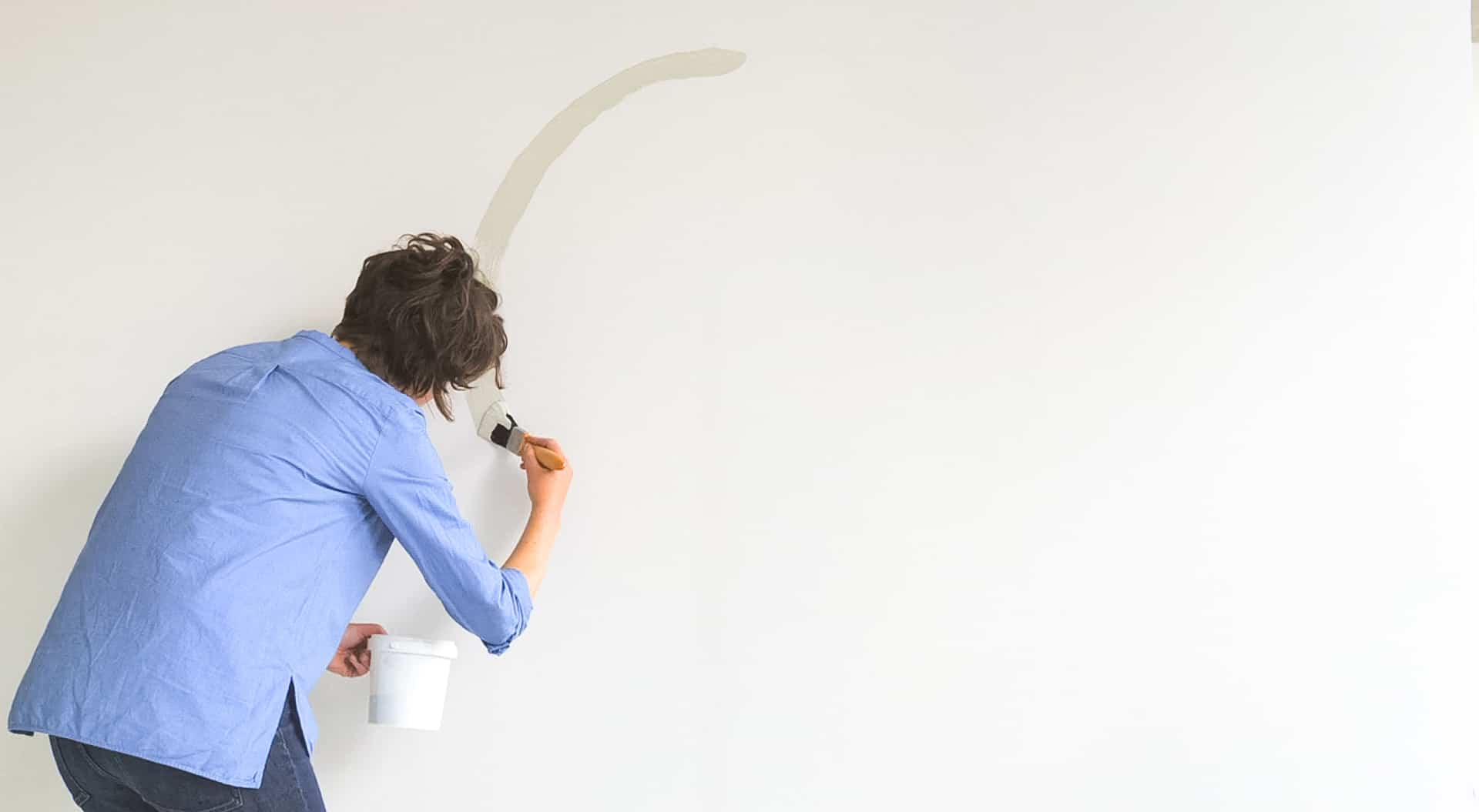 Cómo pintar un círculo en tu pared