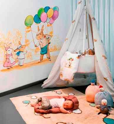 alfombras habitaciones infantiles