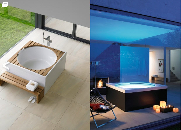 bañeras de diseño blue moon