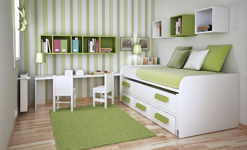 dormitorios infantiles pequeños