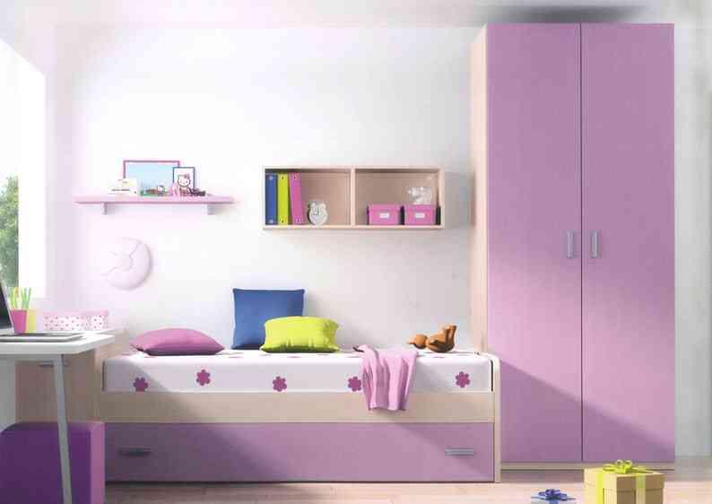 Consejos para decorar dormitorios infantiles pequeños