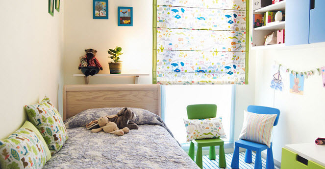 5 ideas para decorar habitaciones infantiles muy originales for Estores ikea infantiles