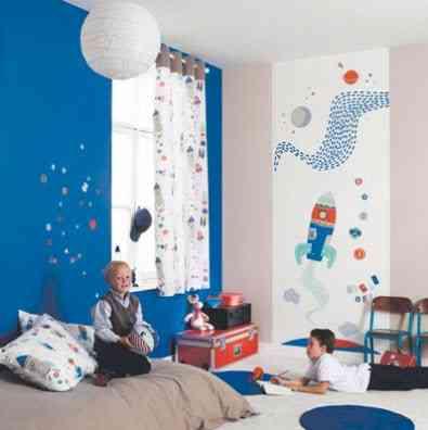 papel pintado habitaciones infantiles