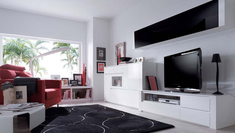 decorar salones modernos