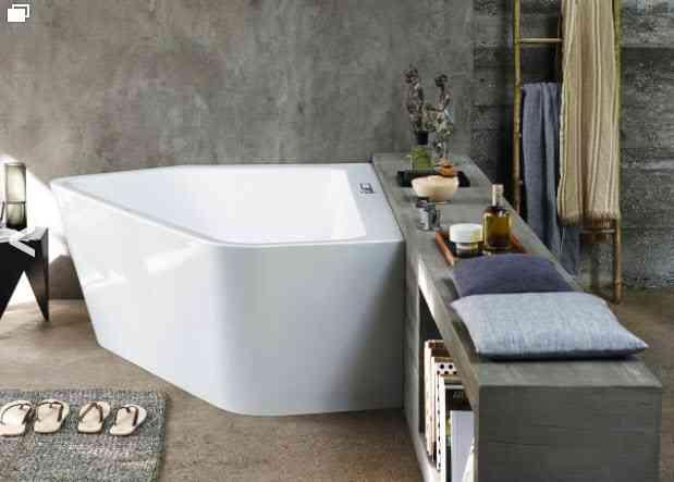 bañera de diseño serie paiova