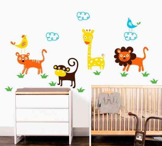 5 ideas para decorar habitaciones infantiles muy originales for Vinilos decorativos infantiles