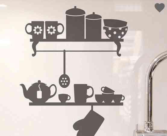 8 ideas para decorar paredes en la cocina muy inspiradoras
