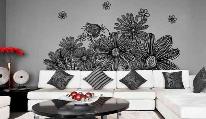 vinilos decorativos florales