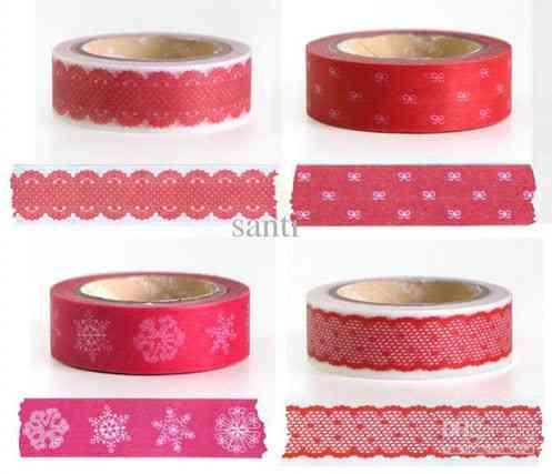 washi tape para salón vintage