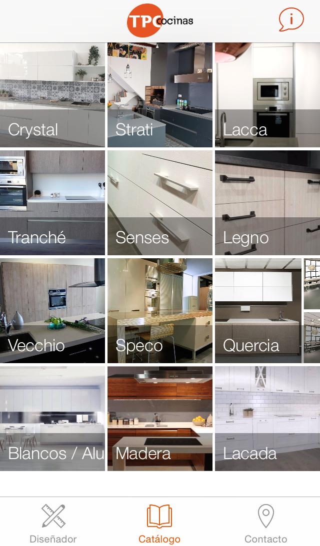 Dise ador 3d de cocinas y otras novedades de tpc cocinas for Disenador de cocinas online gratis