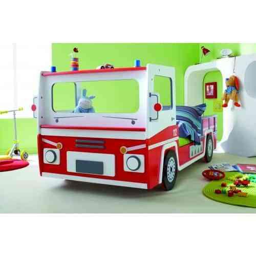 Diferentes camas de coches para niños
