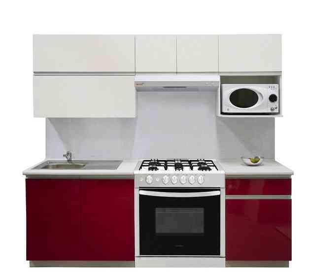 Las cocinas integrales son ideales para tu casa peque a - Cocinas modernas pequenas para apartamentos ...