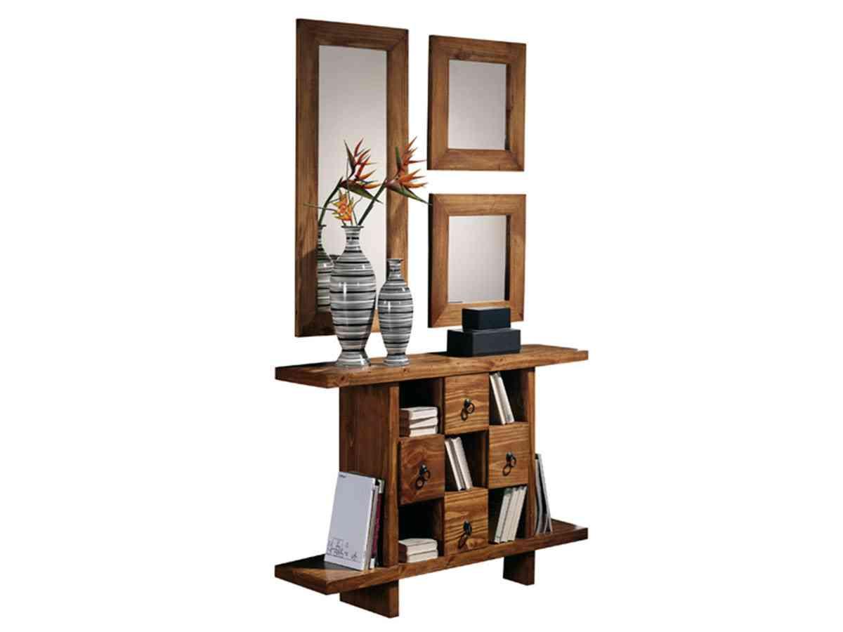 Los muebles de madera m s originales para tu hogar for Muebles de oficina rusticos