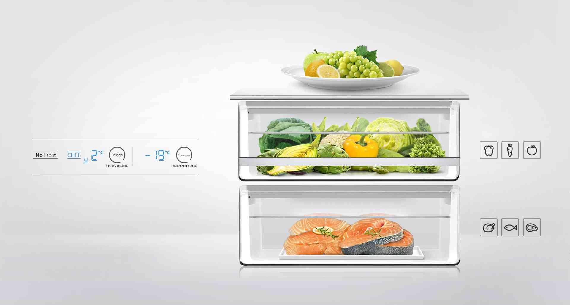 frigorifico samsung - apartados