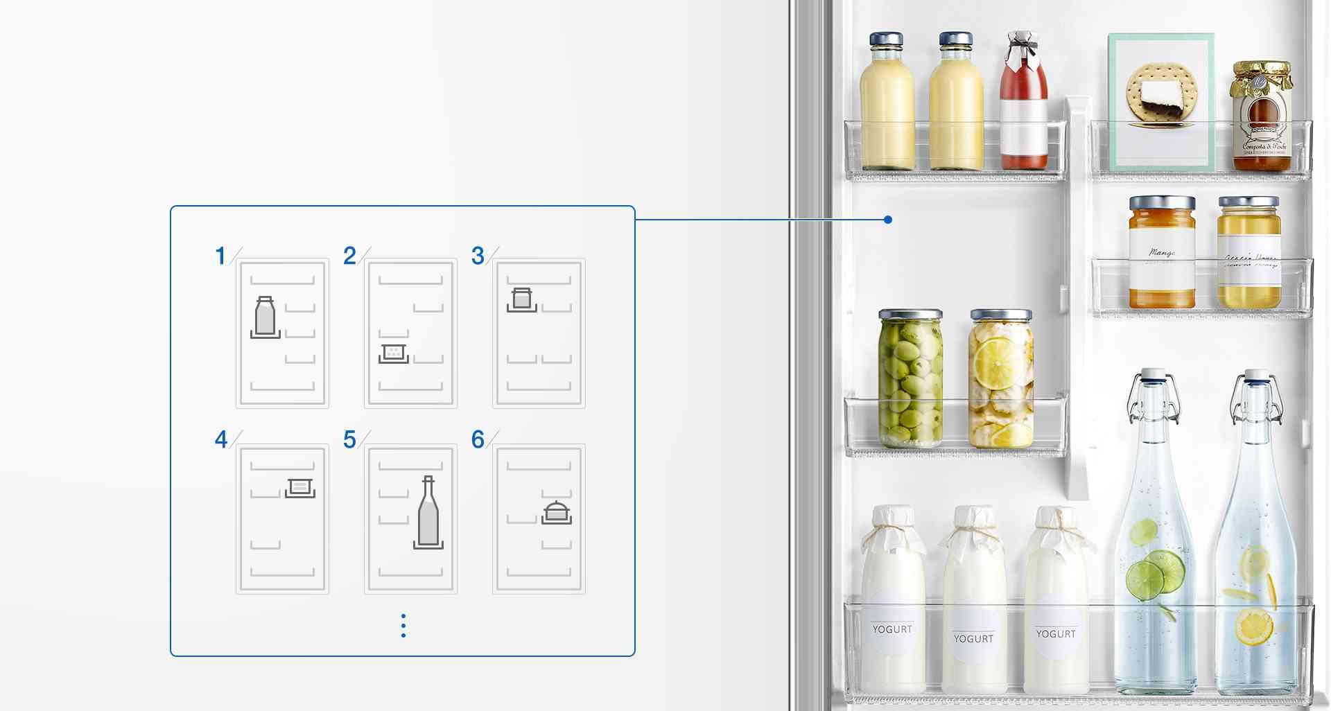 frigorifico samsung botellas