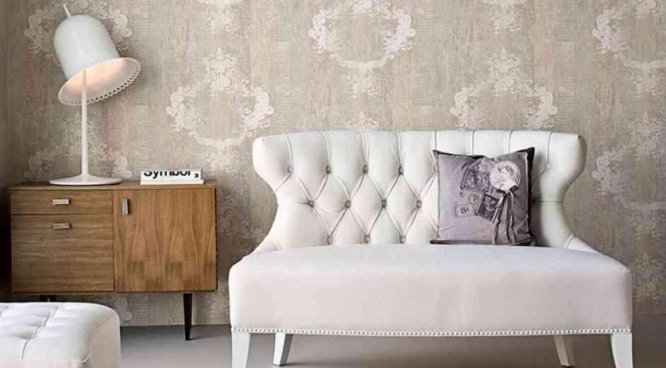 Piensas en papel pintado para las paredes de tu salón? ¡Sigue estas ...