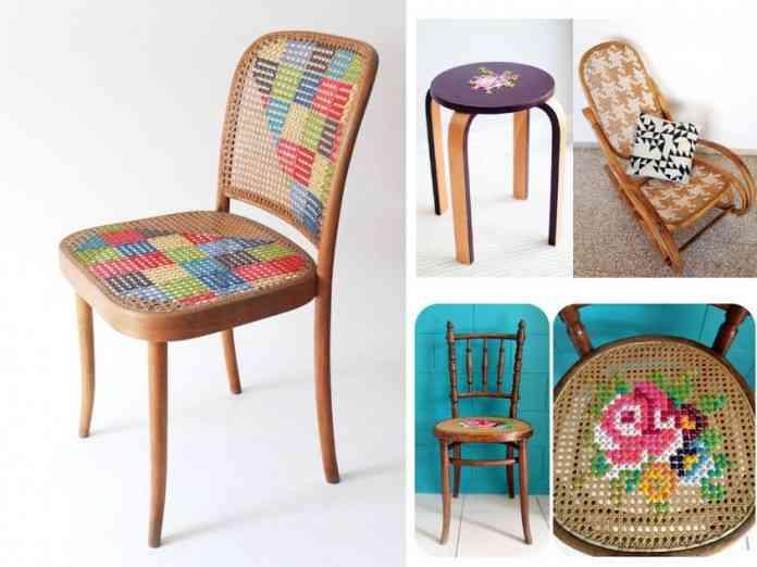 Como Hacer Cojines Decorativos Punto De Cruz.6 Encantadoras Ideas Para Decorar Con Punto De Cruz