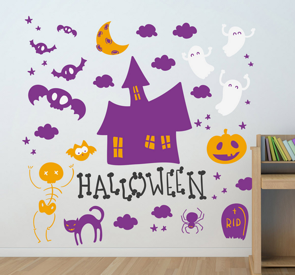vinilos decorativos para halloween