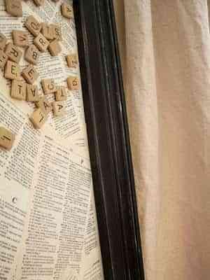 Cuadros de palabras con imanes