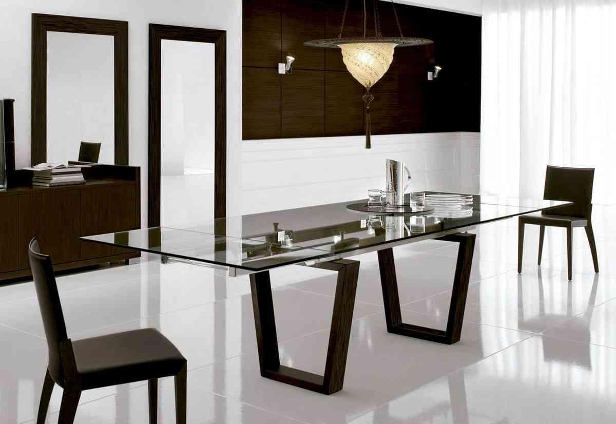 Mesa de comedor qu tipos hay y c mo se elige for Disenos de mesas de vidrio para comedor