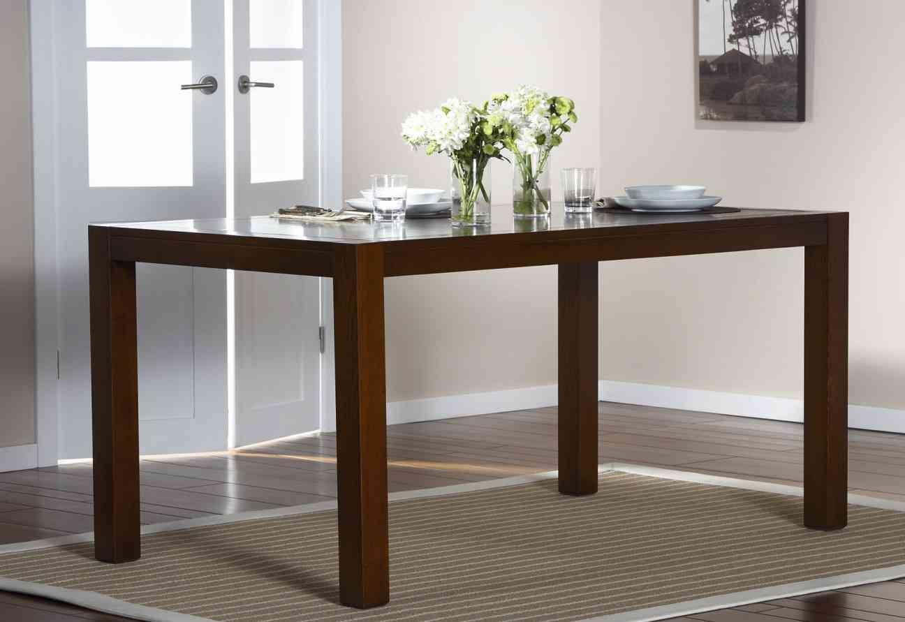 Mesa de comedor qu tipos hay y c mo se elige - Como decorar una mesa de comedor rectangular ...