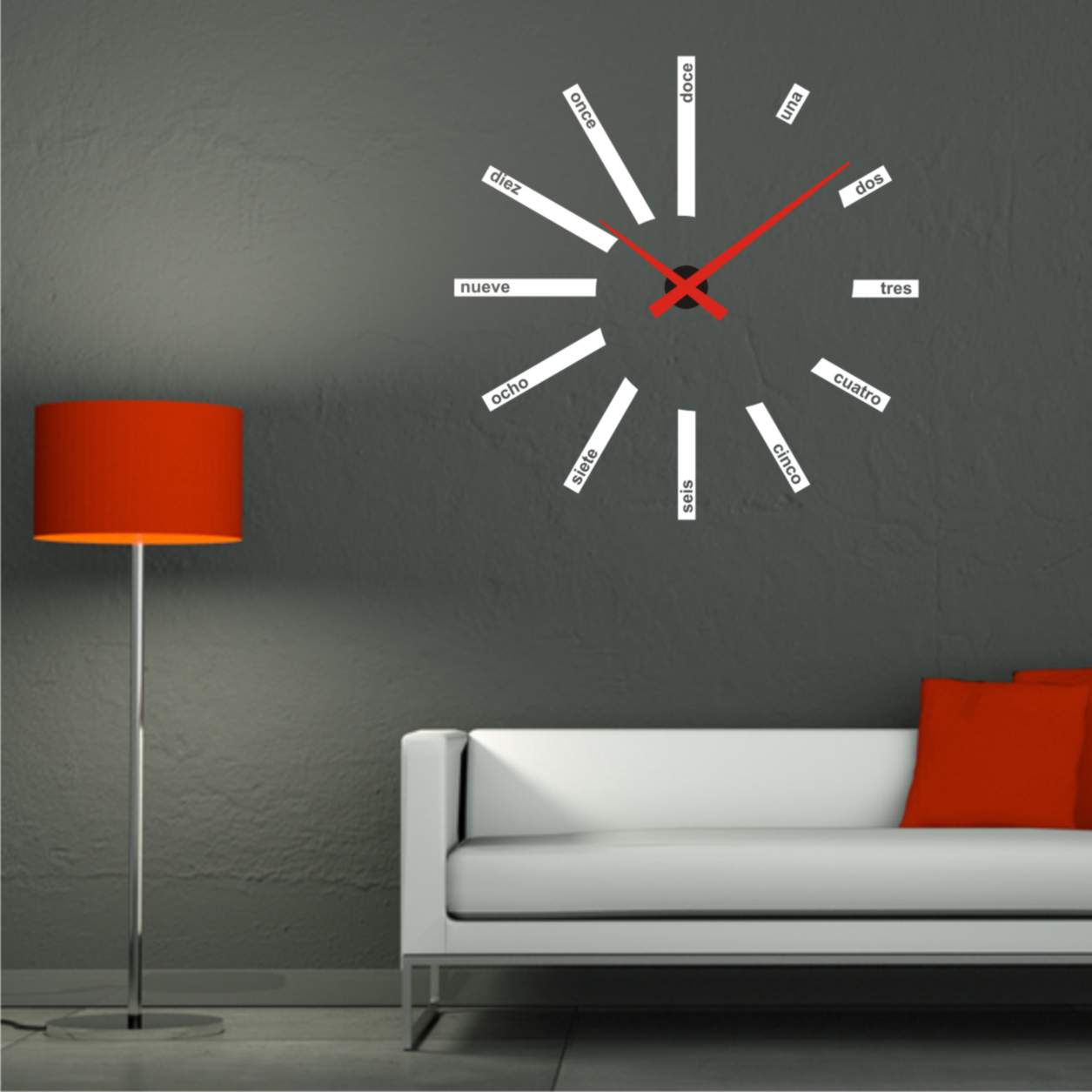 Tipos de relojes de pared cu les hay decoraci n de for Relojes decorativos para salon