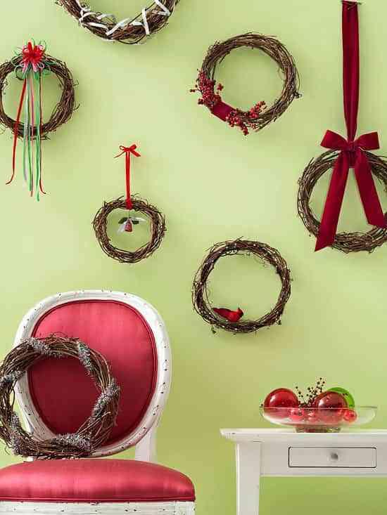 Diferentes detalles navideños