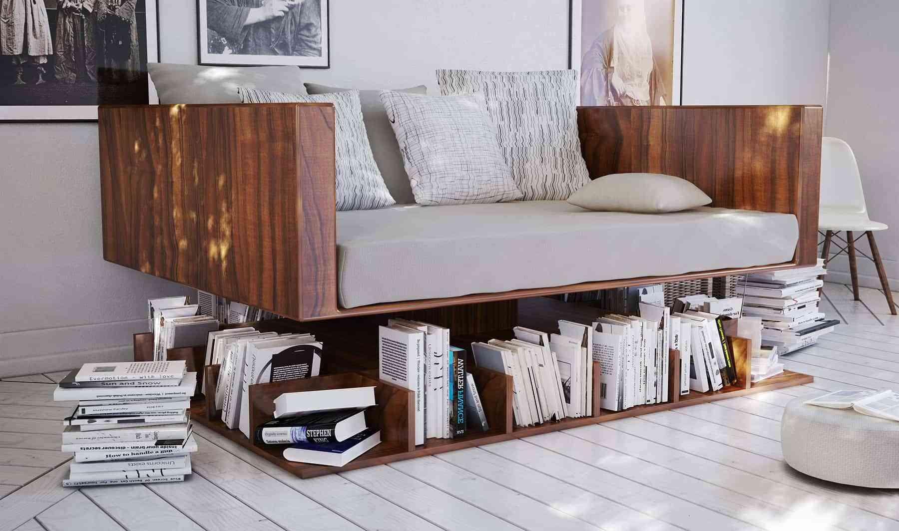 6 muebles funcionales y originales para tu vivienda for Muebles zapateros originales