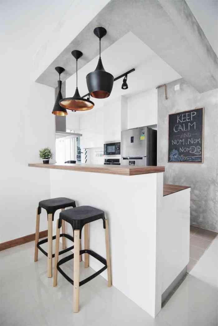 cocinas de estilo nórdico VIII